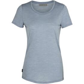 Icebreaker Sphere Low Crewe T-shirt Dames, gravel heather